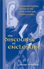 Cover of: The discourse of enclosure | Shari Horner