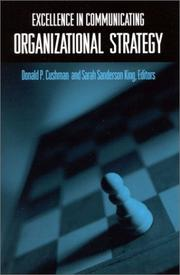 Cover of: Excellence in Communicating Organizational Strategy (Suny Series in International Management) |