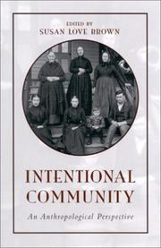 Cover of: Intentional Community | Susan Love Brown