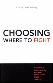 Cover of: Choosing Where to Fight | Eric N. Waltenburg