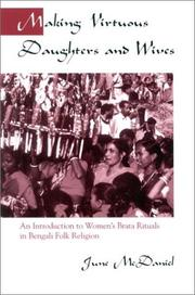 Cover of: Making Virtuous Daughters and Wives | June McDaniel