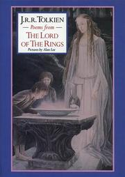 Cover of: Poems from The lord of the rings