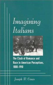 Imagining Italians by Joseph P. Cosco