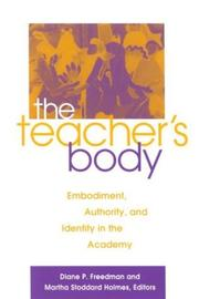 Cover of: The teacher's body by