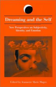 Cover of: Dreaming and the Self | Jeannette Marie Mageo