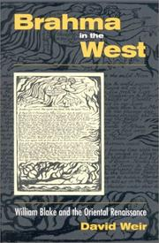Cover of: Brahma in the West