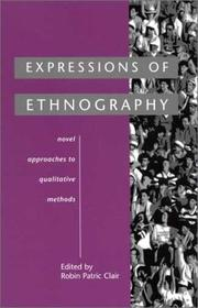 Cover of: Expressions of Ethnography | Robin Patric Clair
