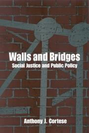 Cover of: Walls and Bridges | Anthony Joseph Paul Cortese
