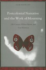 Cover of: Postcolonial narrative and the work of mourning |