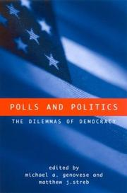 Cover of: Polls and politics