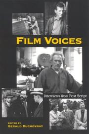 Cover of: Film voices |