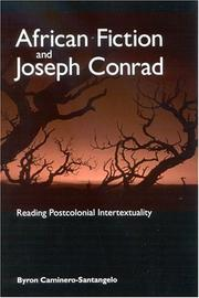 Cover of: African Fiction And Joseph Conrad | Byron Caminero-Santangelo