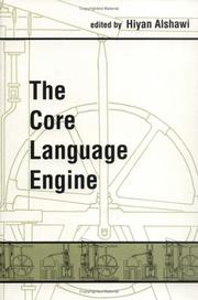 Cover of: The Core language engine |