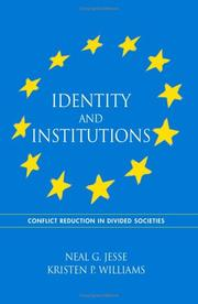 Cover of: Identity and institutions |