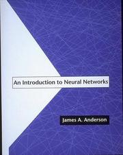 Cover of: An introduction to neural networks | Anderson, James A.