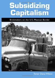 Cover of: Subsidizing Capitalism | Tamar Diana Wilson