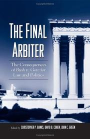 Cover of: The final arbiter