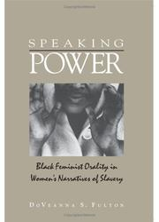Cover of: Speaking power | DoVeanna S. Fulton