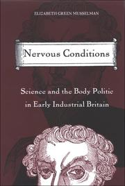 Cover of: Nervous Conditions | Musselman Elizabeth Green