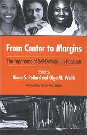 Cover of: From center to margins |