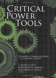 Cover of: Critical power tools