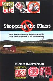 Cover of: Stopping the Plant | Miriam D. Silverman
