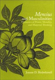 Cover of: Mencius and Masculinities | Joanne D. Birdwhistell