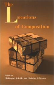 Cover of: The Locations of Composition |