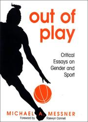 Cover of: Out of Play | Michael A. Messner