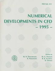 Cover of: Numerical Developments in Cfd - 1995 |