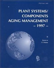 Cover of: Plant systems/components aging management, 1997 |