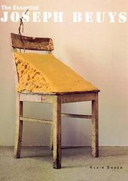 Cover of: The essential Joseph Beuys