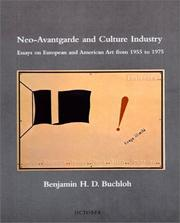 Cover of: Neo-avantgarde and culture industry