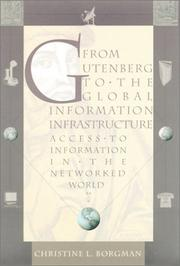 Cover of: From Gutenberg to the global information infrastructure