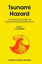 Cover of: Tsunami hazard |