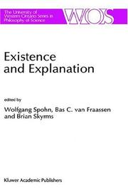 Cover of: Existence and explanation