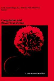 Coagulation and Blood Transfusion (Developments in Hematology and Immunology) by
