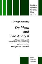 Cover of: De motu ; and, The analyst