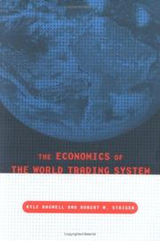 Cover of: The economics of the world trading system |