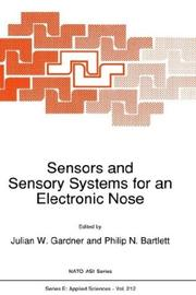 Cover of: Sensors and sensory systems for an electronic nose