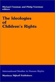 Cover of: The Ideologies on Children