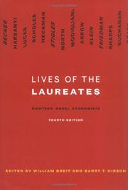 Cover of: Lives of the Laureates - Fourth Edition |