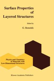 Cover of: Surface Properties of Layered Structures (Physics and Chemistry of Materials with Low-Dimensional Structures)