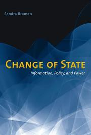 Cover of: Change of State