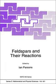 Cover of: Feldspars and Their Reactions