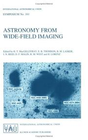 Astronomy from Wide-Field Imaging (International Astronomical Union Symposia) by