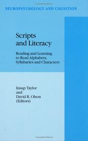 Cover of: Scripts and literacy |