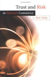 Cover of: Trust and risk in Internet commerce