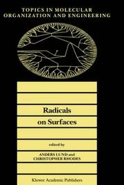 Radicals on surfaces