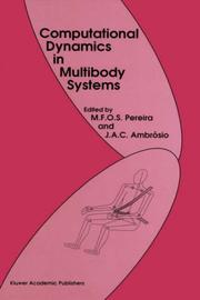 Cover of: Computational dynamics in multibody systems |